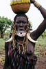 lip plate (rick.onorato) Tags: africa ethiopia omo valley tribes tribal mursi woman lip plate