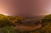 Cala de Perlora. (Amparo Hervella) Tags: caladeperlora candás asturias españa spain playa arena mar agua cielo estrella naturaleza roca noche nocturna color largaexposición d7000 nikon nikond7000 paisaje