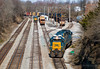 Busy Times at Patio Yard (Wheelnrail) Tags: csx csxt locomotive railroad rail road rails emd c701 winchester kentucky cc subdivision patio yard ky power caboose tracks sunny