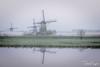 Foggy (Paul Nagels) Tags: kinderdijk fog mill windmill