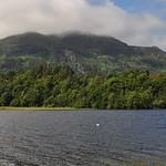 Vue sur le Loch Achray et le Ben Venue, Trossachs, Stirlingshire, Stirling and Falkirk, Ecosse, Royaume-Uni. thumbnail