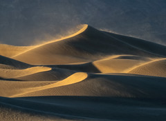 Windswept (D Breezy - davidthompsonphotography.com) Tags: sanddunes dunes sunset curves ripples textures golden goldenlight wind blowingsand nature travel deathvalley deathvalleynationalpark nationalpark dv california nikon d850