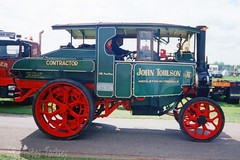 Foden Steam Tractor John Toulson (SR Photos Torksey) Tags: steam transport traffic wagon waggon vehicle vintage commercial classic traction engine rally road show foden john toulson