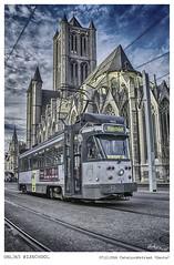 RIJSCHOOL (manooolo7) Tags: gante gent belgium tram architecture nubes 365dias