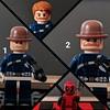Which Dum Dum Dugan 1 or 2 Looks best? (Letgoofmylego) Tags: dumdum agentofshield lego minifig marvel