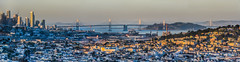 living in the shadows of success (pbo31) Tags: bayarea california nikon d810 color march 2018 boury pbo31 urban sanfrancisco city over panorama large stitched panoramic sunset baybridge skyline bayview rooftops bridge 80 bay view 181fremont 280 bretharte