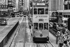 Tram the Icon (**capture the essential**) Tags: 2017 fahrzeugeverkehr fotowalk hongkong menschen people sonya7m2 sonya7mii sonya7mark2 sonya7ii sonyfe2470mmf4zaoss sonyilce7m2 strassen strassenscene street streetlife tram
