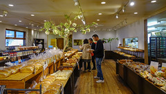 People at the bakery (phuong.sg@gmail.com) Tags: assortiment bake baker bakery basket bio bread breakfast brown bun cereal crust czeh diet dinner dough eating fiber flour food french fresh freshness gold gourmet grain handmade healthy homemade horizontal isolated loaf market meal organic pastry prague republic sale seed studio tasty traditional