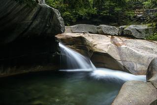 Franconia Notch State Park, New Hampshire: The Basin