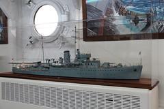 HMS Wellington in close-up (Snappy Pete) Tags: cityofwestminster wc2 landmark london england uk greatbritain riverthames ship warship boat hmswellington museum royalnavy model painting art