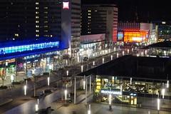 Prager Strasse - Dresden (izoll) Tags: pragerstrassedresden dresdenpragerstrasse dresden sachsen einkaufsstrasse boulevarddresden flaniermeiledresden izoll alpha77ii sony nachtaufnahmen nacht beleuchtung