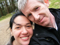 Nina Mountain Climbing (sean and nina) Tags: nina woman female girl lady girlfriend fiancee wife married brunette dark hair brown eyes pink lips gorgeous stunning charm charming beauty beautiful amazing serb mountain mourne mountains climbing hill walking over coat up face blue jeans forest trees ramble nature outdoor outside adventure newcastle county down ireland irish eu europe european eire people person candid pose posed posing public happy smile smiling cute sean couple husband loving love together twosome two dos