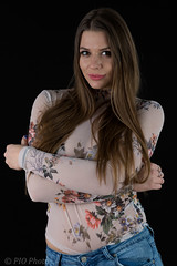 Transparent blouse (piotr_szymanek) Tags: kornelia korneliaw portrait studio woman milf young skinny longhair face hand eyesoncamera 1k 20f 5k 50f 10k 20k 30k