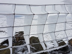 Rime iced fence (katy1279) Tags: hffhappyfencefridaywirefencemetalfencerimeiceicefrozensnow