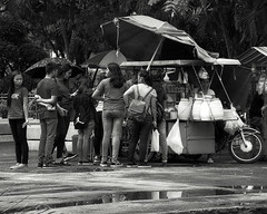 Busy (Beegee49) Tags: street vendor buying snacks silay city philippines