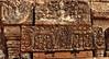 Linteau décoré montrant une divinité (Vishnu?) surmontant un Kala (Joh Pik) Tags: preahvihear prasatpreahvihear unesco patrimoinemondial patrimoinemondialedelunesco worldheritage thailande cambodge cambodia thai frontière frontier temple ប្រាសាទព្រះវិហារ prasatpreahvihea shiva bouddha buddha shivaïste templedepreahvihear asie culturel cultural templehindou hindutemple dângrêkmountains khmer empirekhmer unescoworldheritagesite suryavarman montsdangrek architecturekhmère