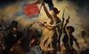 Delacroix / La Liberté Guidant le Peuple / 1830 - 1/8 (Pantchoa) Tags: delacroix peintre exposition louvre 2018 peintures tableaux drapeau tricolore français femme seins seinsnus fusils soldats pistolet révolution
