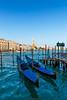 Gondole (Nicola Pezzoli) Tags: italia venezia venice carnevale canals canali italy travel gondole gondola san marco canal canale water blue sky campanile