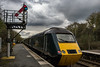 Great Western Railway 43005 and 43139. (Ruvaneth Unys Photography.) Tags: train greatwesternrailway gwr great western railway semaphore liskeard hst 125 class43 43005 43139 cloud mtu green