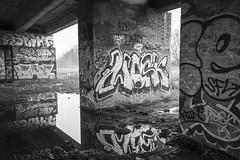 Mask (stopdead2012) Tags: urbex graffiti uxbridge hillingdon london flyover