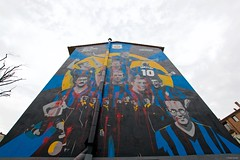 IMGP9645 Just Painted, just vandalized (Claudio e Lucia Images around the world) Tags: murales murale painting streetart graffiti graffito inter interclub milan milano football footballteam interteam supporter vandals crime notsupporters fans isola viaborsieri portagaribaldi pentax pentaxk3ii sigma sigma1020 vandalized stupidfans