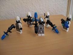 Combat Droids (Śląski Hutas) Tags: lego bricks minifigures scifi futuristic robots androids poland polska