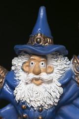 Sorcerer (Pioppo67) Tags: sorcerer stregone canon 80d macromondays onceuponatime macro blu