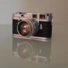 My Leica M3 with Summilux 50mm 1:1.4 (Juan Felipe Gómez T) Tags: leica leitz leicam3 summilux nikond40 linuxmint gnu digikam