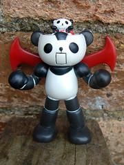 Panda Z (The Moog Image Dump) Tags: panda z toy figure cute kawaii パンダーゼット mazinger マジンガーz parody giant robot pilot