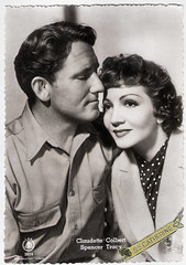 Claudette Colbert and Spencer Tracy in Boom Town (1940) (Truus, Bob & Jan too!) Tags: claudettecolbert claudette colbert american actress spencertracy spencer tracy actor filmstar hollywood moviestar cinema film screen picture cine kino movie movies filmster star vintage postcard carte postale cartolina tarjet postal postkarte postkaart briefkarte briefkaart ansichtskarte ansichtkaart boomtown 1940 leseditionsdartlab lab mgm metrogoldwynmayer