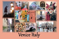 Venice Collage (PhotoSpills Collages) Tags: photospills collage photocollage collagesoftware freesoftware photography veniceitaly venice italy