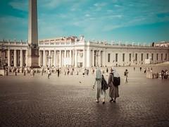 Rome Vaticaan (hetty m) Tags: city rome travel history plein vaticancity