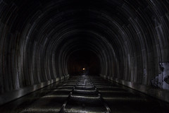 tunnel vision (eb78) Tags: ca california nightphotography npy longexposure abandoned ue urbex urbanexploration eastbay tunnel underground subterranean railroad traintracks