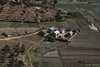 Madagascar farm house (NettyA) Tags: 2017 africa madagascar countryside farms houses rural travel viewfromplane windowseat
