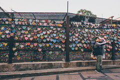 Lovers (]vincent[) Tags: hk hong kong china asia people portrait girl ginger emma beautiful vincent sony rx 100 mk iv canon 50 mm 14 self cheung chau island sunny bicycle dry dried food basket ball us