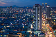 pillars (JTeale) Tags: landscape bluehour travel teale ulsan southkorea cityscape canon korea asia tourism