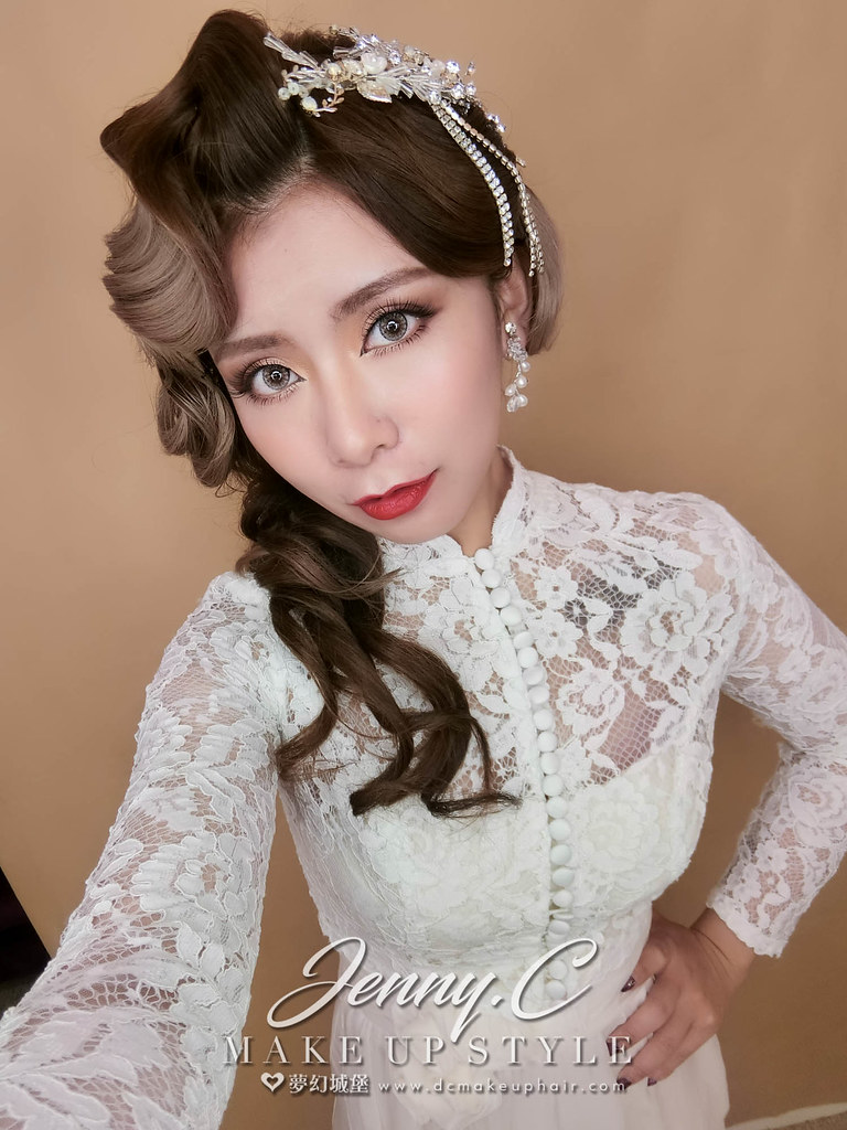 【新秘蓁妮】新娘造型創作 / 歐風復古造型