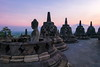 Exposed (Jokoleo) Tags: borobudur sunrise stupa manohara magelang candi temple statue buddha capture sunset outdoor skyline sky ngc indonesia ancient history asia buddhism central java province color image cultures east asian culture famous place horizontal indonesian journey no people outdoors photography religious icon southeast stone material dawn building travel destinations unesco world heritage site vacations yogyakarta