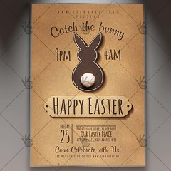 Happy Easter Day Flyer - Spring PSD Template (psdmarket) Tags: easter easterdayflyer easterflyer easterparty easterpsd eastertemplate egg festival flyer happyeaster spring springbreak springtime