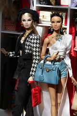 NuFace beauties (Isabelle from Paris) Tags: fashion royalty nuface w club metamorphosis erin salston alta moda karolin stone