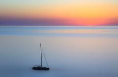 Libera (Gio_ guarda_le_stelle) Tags: sunset softness pastel seacape sailing tramonto libera mare italy sea water quiete quiet atmosphere calma