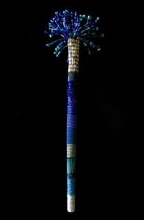 The Blue Beaded Brush