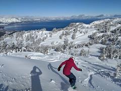 Heavenly powder day (benjaminfish) Tags: heavenly ski lake tahoe snowboard snow march spring 2018