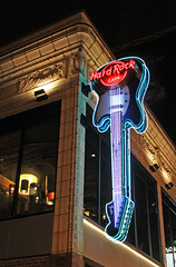 Later That Same Evening (skipmoore) Tags: seattle hardrockcafe neon sign night