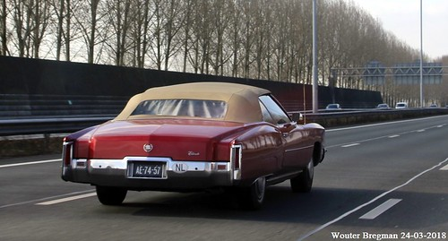 Cadillac Eldorado convertible 1971 - a photo on Flickriver
