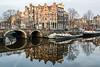 P4083329 (rpajrpaj) Tags: amsterdam city cityscape sunrise canal papiermolensluis papermilllock lekkeresluis brouwersgracht