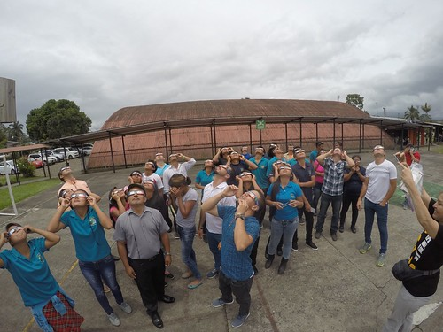 Talleres eclipse pacial 2017