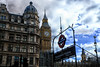 Westminster Station in London, United Kingdom (` Toshio ') Tags: toshio london unitedkingdom england greatbritain city westminsterstation bigben housesofparliament underground clouds parliamentsquare palaceofwestminster europe european fujixt2 xt2 subway