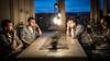 egozentrische runde (DaveGassmann) Tags: projekt ego licht lampe indoor photoshop bildbearbeitung menschen people olympus penf scene szene kontrast blue