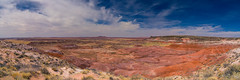 Painted Desert (ProPeak Photography - Thanks for 600,000 views!) Tags: america arizona blue blueskies clouds famousplace green internationallandmark landscape mesa nps nationalpark northamerica orange painteddesert panorama petrifiedforestnationalpark places red spring texture touristattraction traveldestination travelandtourism usa unitedstates yellow desert